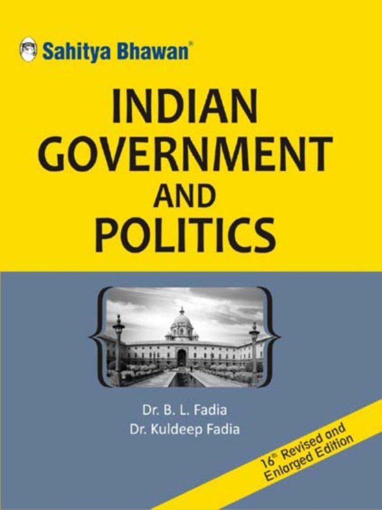 Indian Government And Politics Sahitya Bhawan Publications